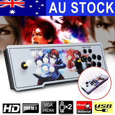 999 In 1 Pandora's Box 5S+ Home Arcade Game Console Retro Home Gamepad VGA HDMI