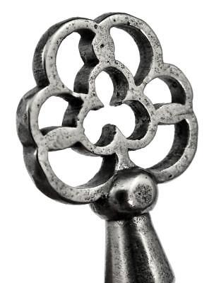 "Antique 19th Century Cabinet Key with Decorative Openwork Bow 2⅝"" - ref.k434"