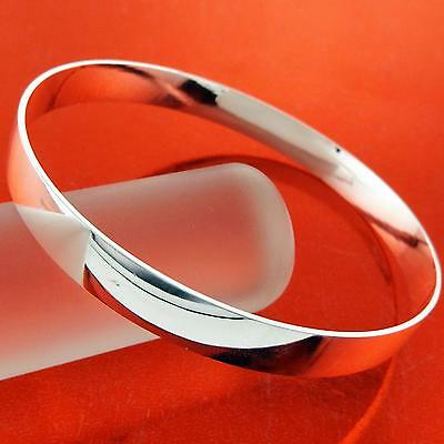 An907 Genuine Real 925 Sterling Silver Sf Solid Ladies Golf Cuff Bangle Bracelet