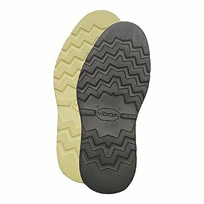 1 Pair of VIBRAM Replacement Soles 4014 Cristy Cushion Rubber Black or Natural
