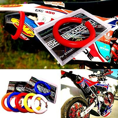 2-STROKE EXHAUST PROTECTOR AUSPUFFSCHUTZ different colors Motocross Enduro Ktm