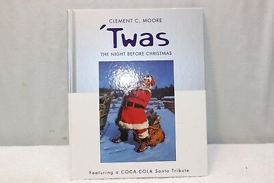 "2001 Hallmark/Coca Cola ""Twas the Night Before Christmas"" Hardback Book"