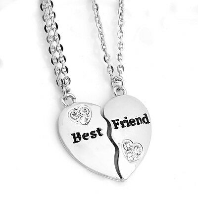 Collier - Best Friends - Premium - Meilleures Amies - Argenté - L&D