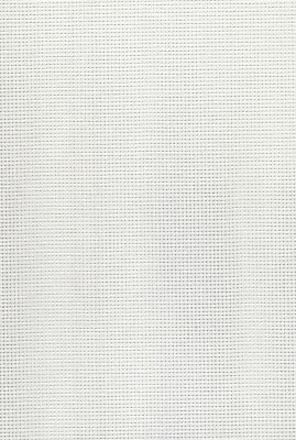 11 count  Zweigart Stramin Canvas White  - fat quarter 50x59cms