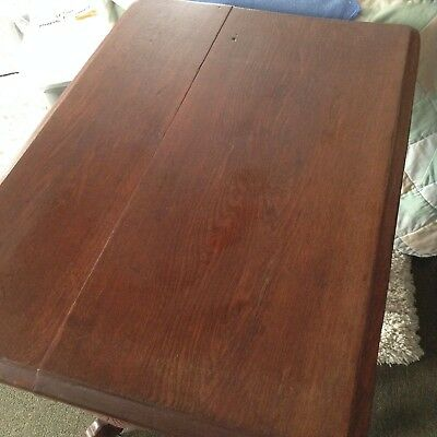 Real Antique Victorian Walnut Parlor Table 1900