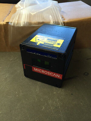 Microscan MS-610 Fixed Mount Industrial Barcode Reader P/N:   FIS-0610-0001
