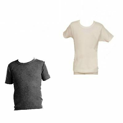 Childrens Short Sleeve Thermal T-Shirt Boys Pack of two - Adventure Togs