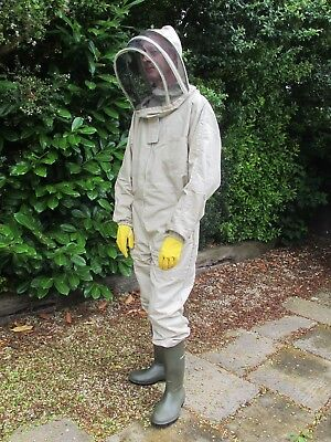 PREMIUM QUALITY Bee Suit Fencing Style - Olive. All Sizes. Protective Equipment