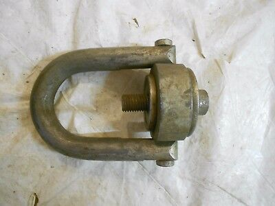 """Hoist Ring Rated Load 7,000 LBS Torque to 50 FT/LBS 3/4-10 x 1"""" Thread Length"""