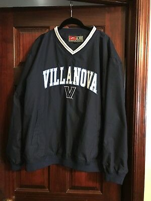 Villanova Pullover Windbreaker Jacket  XL (4 avail)   Washed, Not Worn Go Cats!