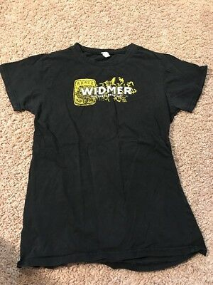 Widmer Brothers Brewing Beer T Shirt Adult Small Slim Fit Soft Black Portland Or