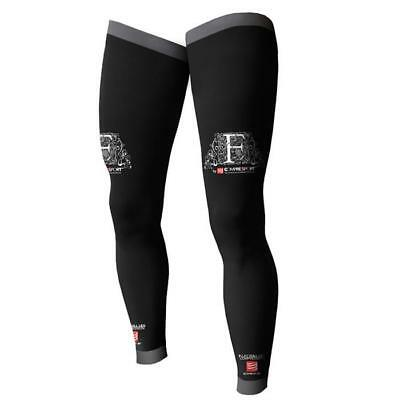 Compressport Motocross / MTB Socken - FULL LEG COMPRESSION SOCKS - schwarz Motoc