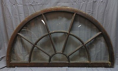 Large Wide Antique Arched Dome Top 35x62 Palladian Window Old Vintage 239-18P