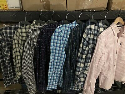 Lot Of 8 Abercrombie And Fitch Shirts Men's  ( A & F ) Size M