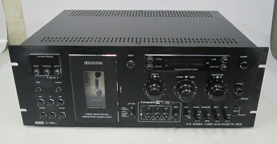 Vintage Eumig Fl-1000 Fl-1000Up Stereo Cassette Deck Needs Repair