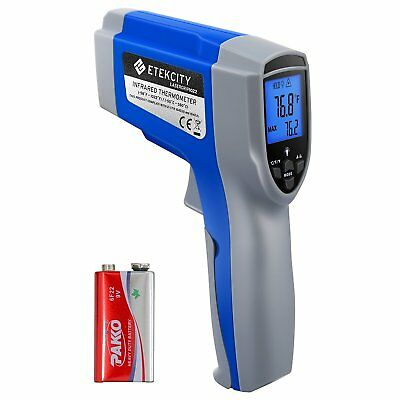 Etekcity 1022 Digital Laser Infrared Thermometer Temperature Gun -58℉~1076℉