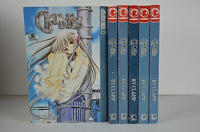 Chobits Manga Series Volumes 1-6 English by Tokyopop CLAMP US SELLER 2002 Ed.