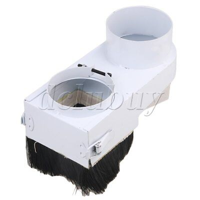 CNC Router Engraving Spindle Dust Shoe Cover Woodworking Cleaner 90mm