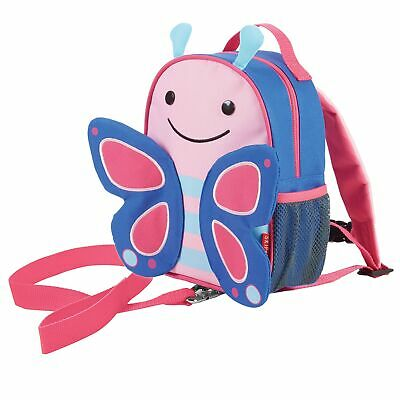 Skip Hop Zoo-let Toddler / Child Backpack / Daysack Bag With Reins - Butterfly