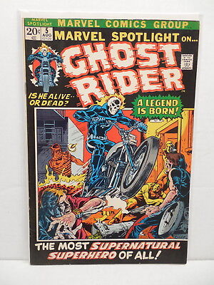 Marvel Spotlight Comic Book #5 1st First Appearance & Origin Ghost Rider Ploog