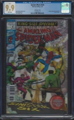 Spider-Man #234 Lenticular variant__CGC 9.9 MINT!!__ASM Annual #6 cover homage