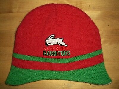 South Sydney Rabbitohs (Australia) Nrl Mascots Baby / Toddler Beanie Hat *superb