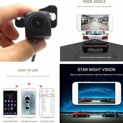 Waterproof Wireless WiFi Car Backup Rear View Reverse Park Camera Night Vision