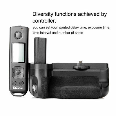 Meike MK-A6500 Pro Wireless Remote control Battery Grip for Sony A6500 Camera