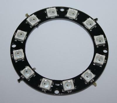 12Bit Rgb Led Ring Ws2812 5050 Rgb Led Integrated Drivers Module For Arduino Tek