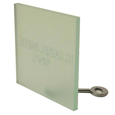 Acrylic Perspex Frosted Glasslook Sheet Plastic Panel Material A5, A4 A3 3mm 5mm