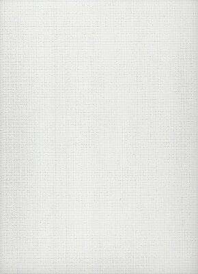 14 count  Zweigart Stramin Canvas White  - fat quarter 50x59cms