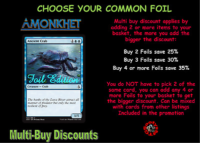 MTG Amonkhet AKH Choose your common Foil - New - Buy 2 or more save 25%
