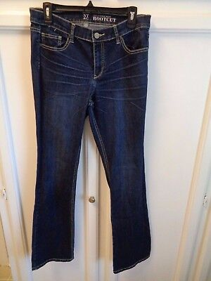 Womens SIZE 10 NEW YORK & CO. Bootcut Jeans