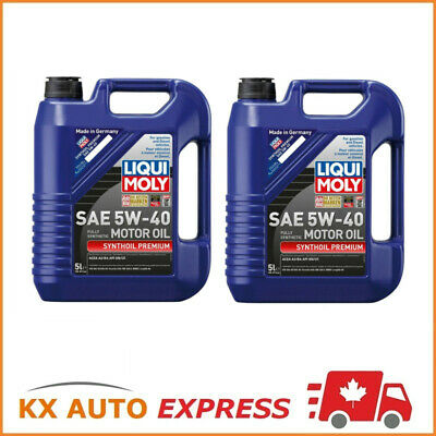 10L Liqui Moly Synthoil Premium SAE 5W-40 Fully Synthetic Engine Oil 2041