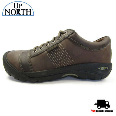 Keen Mens Austin Casual Shoe 1007722 Chocolate Brown WP NEW! FREE SHIPPING!