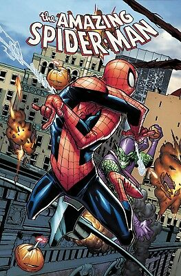 Amazing Spiderman 797 Humberto Ramos Connecting Variant Red Goblin Nm