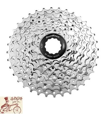 Sporting Goods Sunrace Cs-ms 10-speed---11-36t Mtb--road Silver Bicycle Cassette