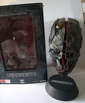 Dishonored 2 collecters edition mask and box