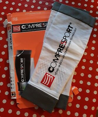 cyclisme jambieres MANCHONS DE COMPRESSION COMPRESSPORT TAILLE 2 NEUF