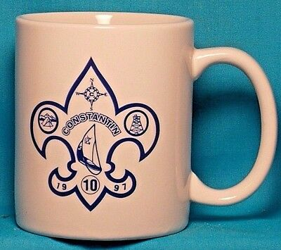BOY SCOUTS Constantin Circle Ten 1997 / CAMP LEADER / COFFEE CUP / MUG
