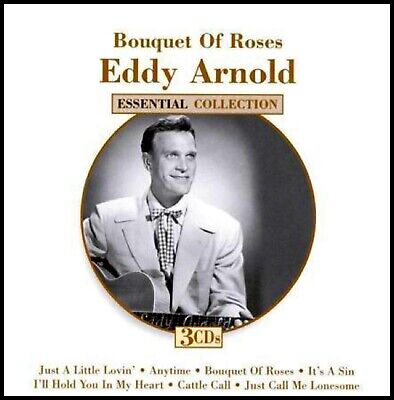 EDDY ARNOLD  * 75 Greatest Hits * NEW 3-CD BOX SET * All Original Recordings