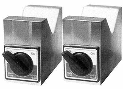 "HHIP 3402-0890 Aluminum Cast Magnetic V-Block Set, 2"" x 2-1/2"" x 2 -3/4"""