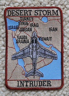 "Operation Desert Storm A-6 Intruder Navy Marines 3.25""x4.75"" Patch"