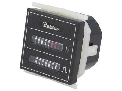 3.550.401.075 Counter electromechanical Display mechanical indicator KUBLER