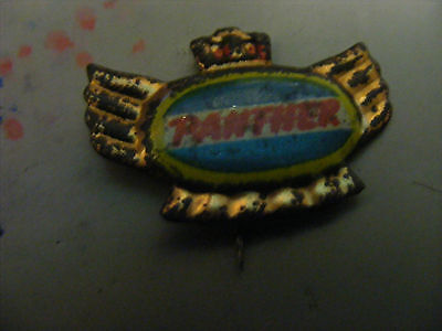 PANTHER motorcycle very old pin badge