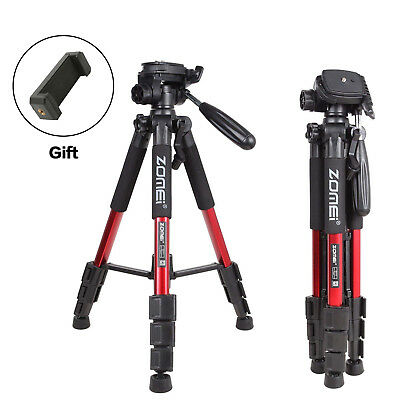 ZOMEI Q111 Aluminum Travel Professional Tripod&Pan Head Portable For DSLR Camera