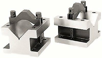 Hhip 3402-0003, 4-1/8 L X 4-1/8 W X 3-1/16 H Precision V-Block & Clamp Set