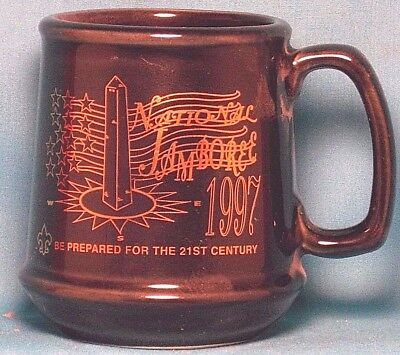BOY SCOUTS National Jamboree 1997 Be Prepared for the 21st Century COFFEE CUP