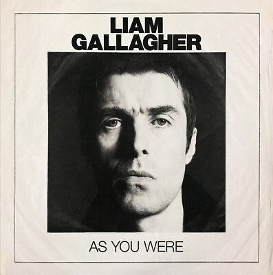 Liam Gallagher - As You Were - Vinyl LP & Download *NEW & SEALED* (Oasis)
