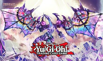 Yu-Gi-Oh XYZ Dragon DIY Playmat Near Mint Natural rubber and offical size